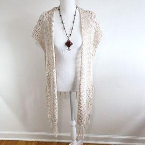Mossimo Crochet Swim Coverup {KB}